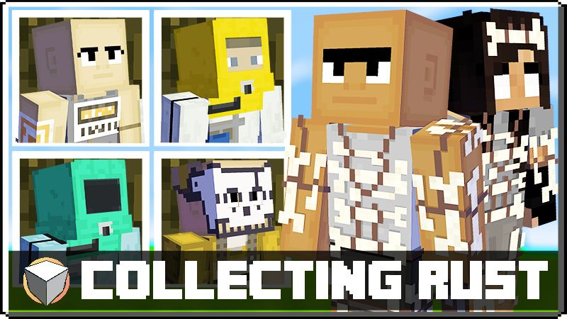Collecting RUST on the Minecraft Marketplace by Logdotzip