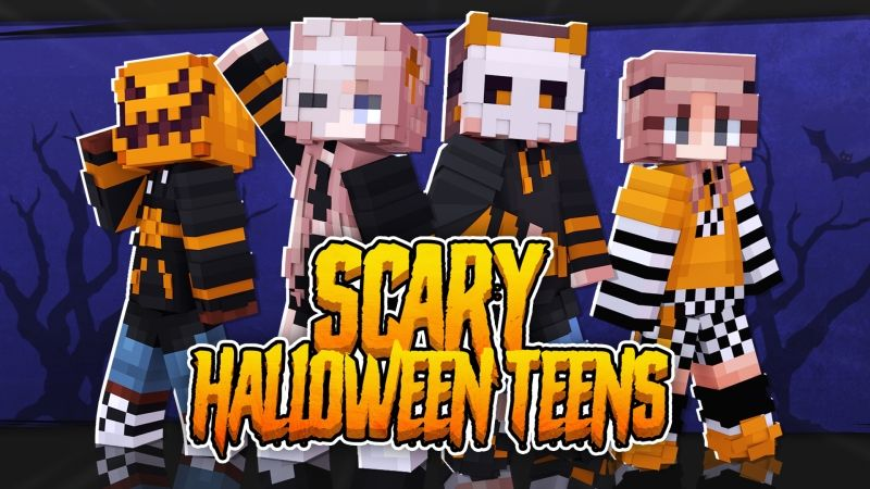 Scary Halloween Teens on the Minecraft Marketplace by Fall Studios