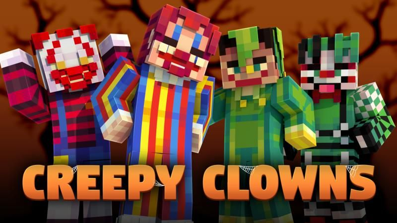 Creepy Clowns on the Minecraft Marketplace by Podcrash