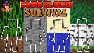 Camo Blocks Survival on the Minecraft Marketplace by Magefall