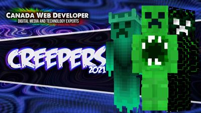 Creepers 2021 on the Minecraft Marketplace by CanadaWebDeveloper