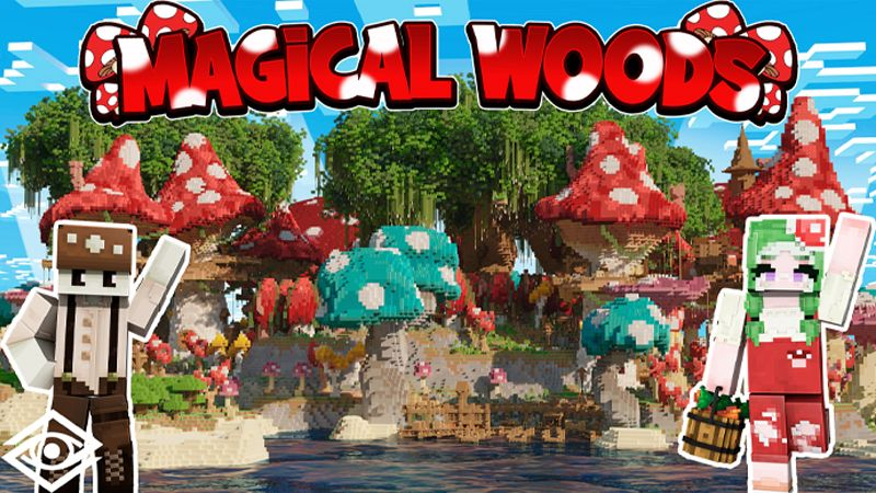 Magical Woods on the Minecraft Marketplace by Cynosia