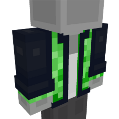 Creeper Jacket on the Minecraft Marketplace by Mob Pie
