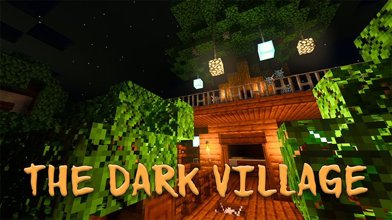 The Dark Village RTX on the Minecraft Marketplace by Nvidia