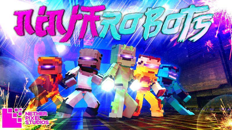 Ninja Robots on the Minecraft Marketplace by Netherpixel
