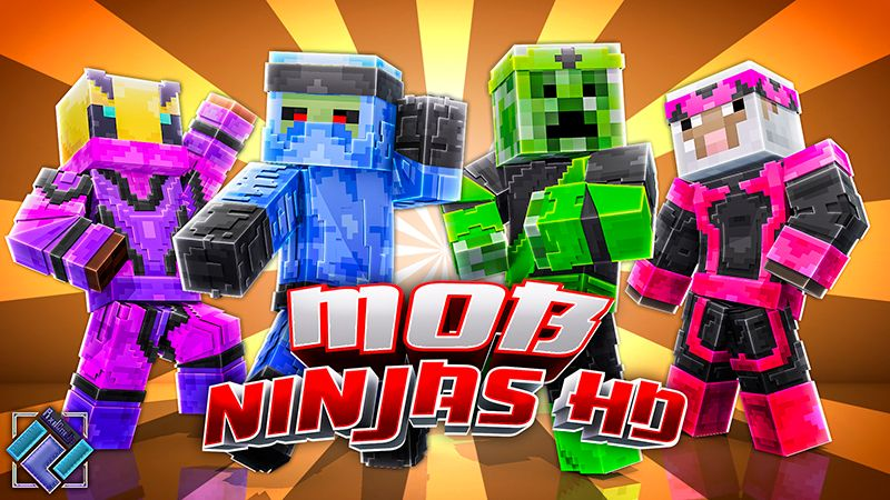 Mob Ninjas HD on the Minecraft Marketplace by PixelOneUp