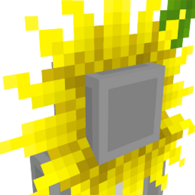 Sunflower Hat on the Minecraft Marketplace by Cynosia