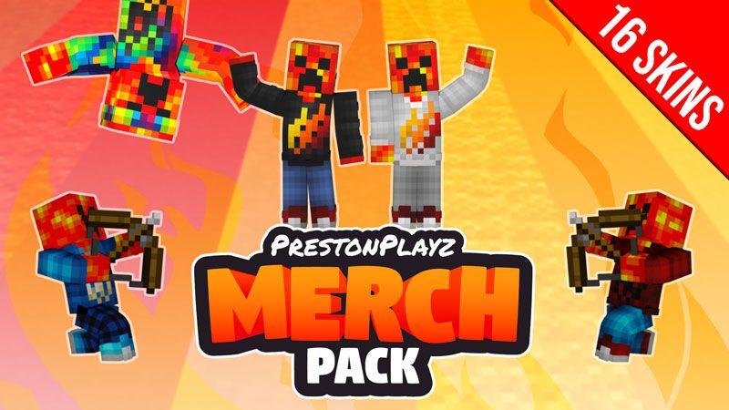 PrestonPlayz Merch Pack on the Minecraft Marketplace by Meatball Inc