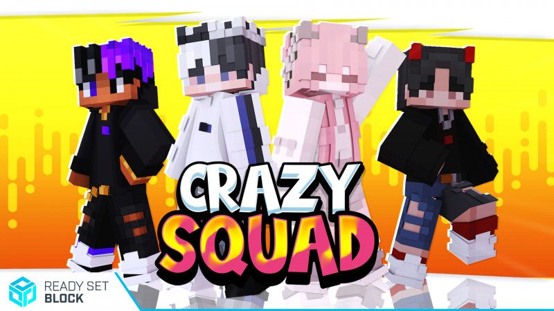 Crazy Squad on the Minecraft Marketplace by Ready, Set, Block!