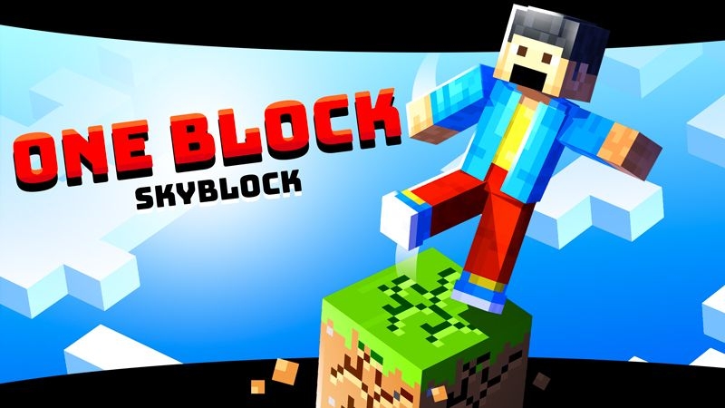 ONE BLOCK SKYBLOCK on the Minecraft Marketplace by SNDBX