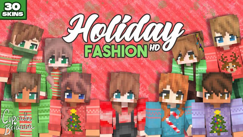 Holiday Fashion HD Skin Pack on the Minecraft Marketplace by CupcakeBrianna