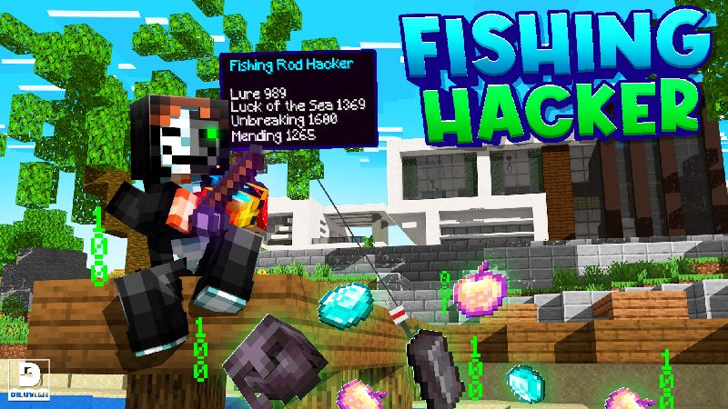Fishing Hacker on the Minecraft Marketplace by Diluvian