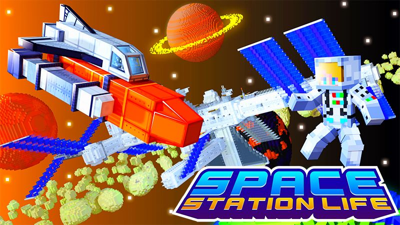 Space Station Life on the Minecraft Marketplace by Kreatik Studios