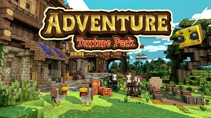 Adventure Texture Pack on the Minecraft Marketplace by Blockception