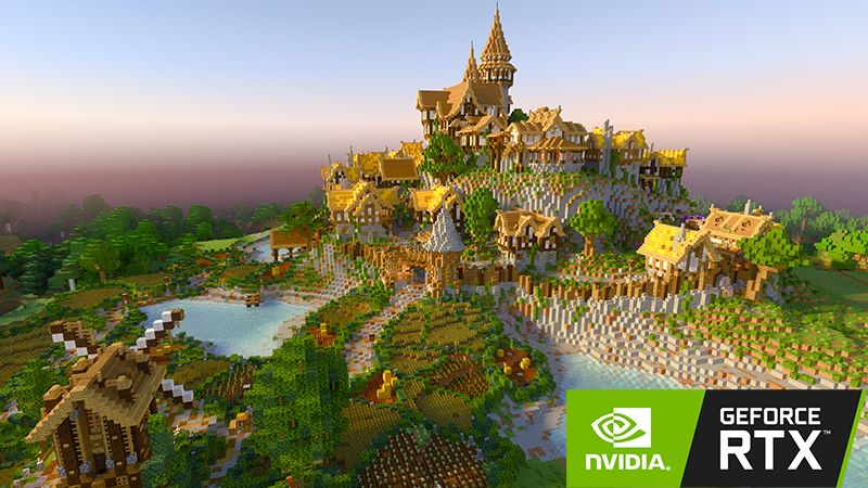 Medieval RTX on the Minecraft Marketplace by Nvidia