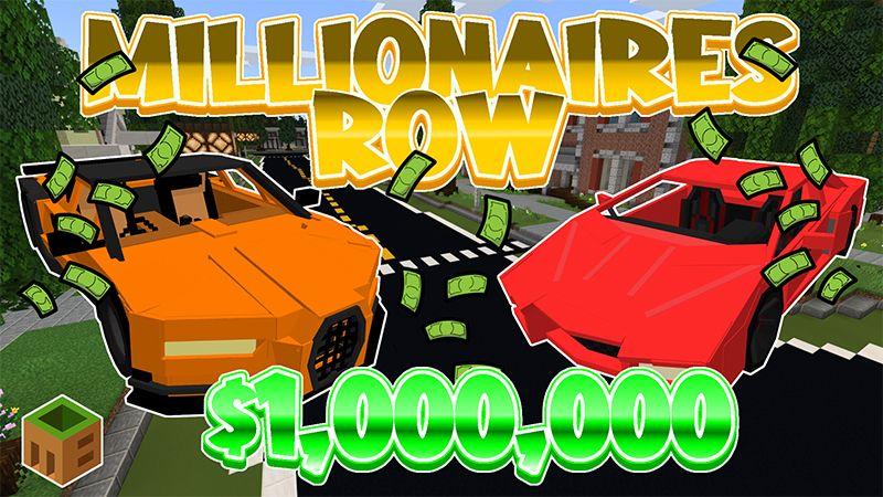 Millionaire Row on the Minecraft Marketplace by MobBlocks
