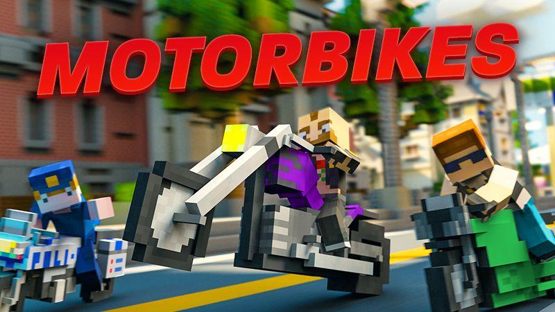 Motorbikes on the Minecraft Marketplace by Team Vaeron