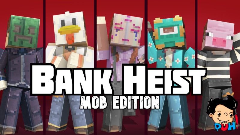 Bank Heist Mob Edition on the Minecraft Marketplace by Duh