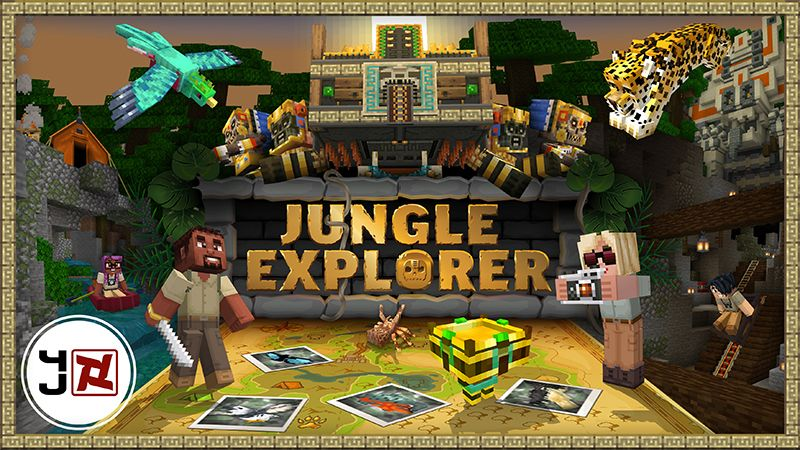 Jungle Explorer on the Minecraft Marketplace by 4J Studios