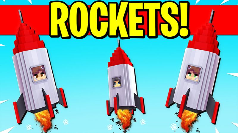 ROCKETS on the Minecraft Marketplace by Pickaxe Studios