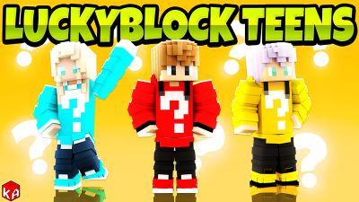Luckyblock Teens on the Minecraft Marketplace by KA Studios