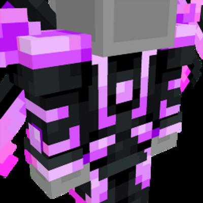 Neon Purple Space Suit on the Minecraft Marketplace by Team Vaeron