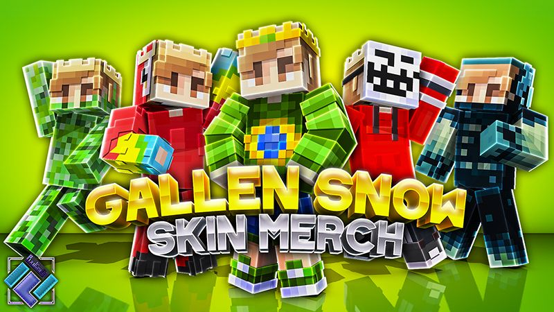 Gallen Snow Skin Pack on the Minecraft Marketplace by PixelOneUp