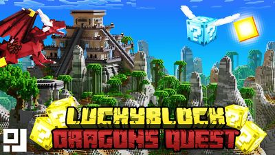 Lucky Block Dragons Quest on the Minecraft Marketplace by inPixel
