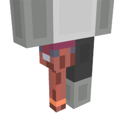Pirate Peg Leg on the Minecraft Marketplace by King Cube