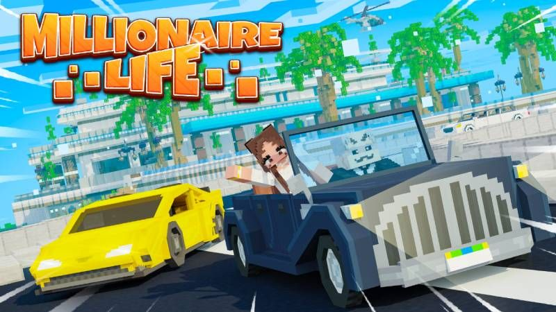 Millionaire Life on the Minecraft Marketplace by Cynosia