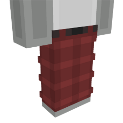 Red Plaid Pants on the Minecraft Marketplace by Dig Down Studios
