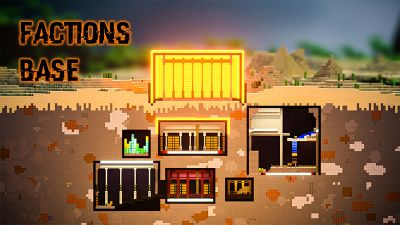 Factions Base on the Minecraft Marketplace by Odyssey Builds