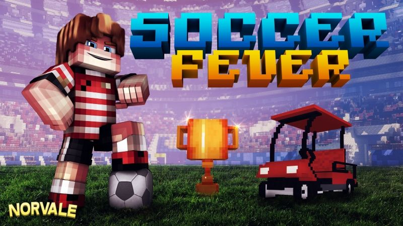Soccer Fever on the Minecraft Marketplace by Norvale