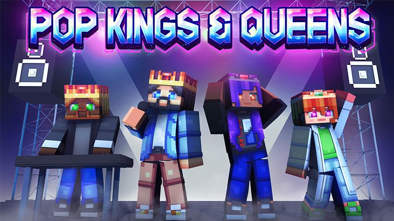 Pop Kings  Queens on the Minecraft Marketplace by Dark Lab Creations