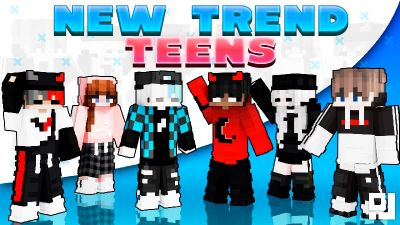 New Trend Teens on the Minecraft Marketplace by inPixel