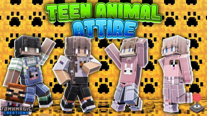 Teen Animal Attire on the Minecraft Marketplace by Tomhmagic Creations