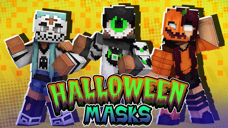 Halloween Masks on the Minecraft Marketplace by The Lucky Petals