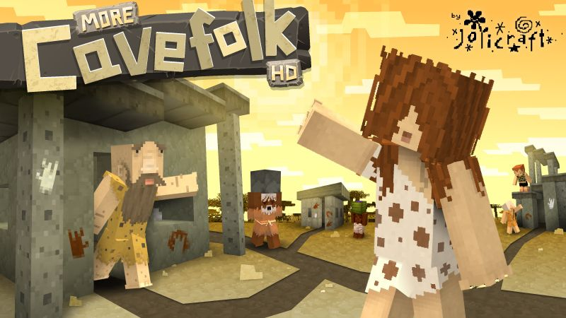 Jolicrafts More Cavefolk HD on the Minecraft Marketplace by Jolicraft