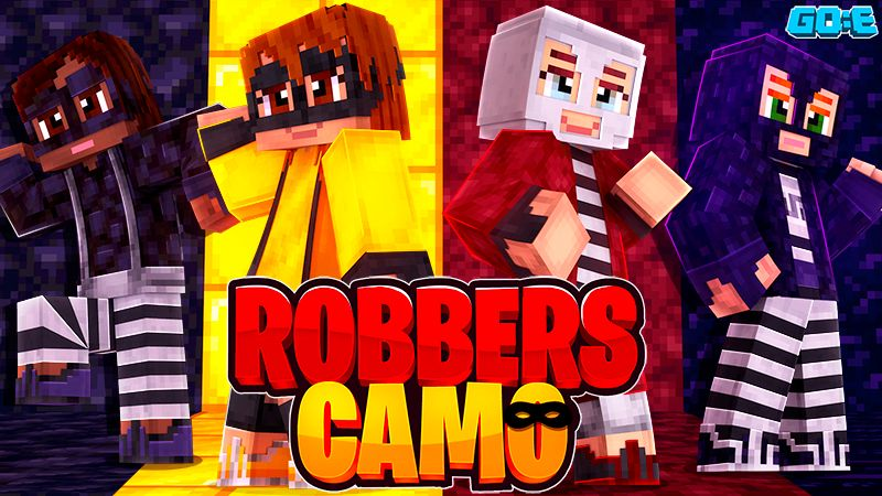 Robbers Camo on the Minecraft Marketplace by GoE-Craft