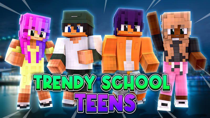 Trendy School Teens on the Minecraft Marketplace by BLOCKLAB Studios