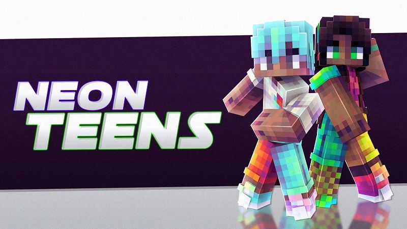 Neon Teens on the Minecraft Marketplace by Nitric Concepts