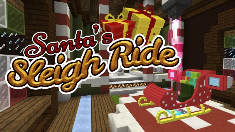 Santas Sleigh Ride on the Minecraft Marketplace by Polymaps