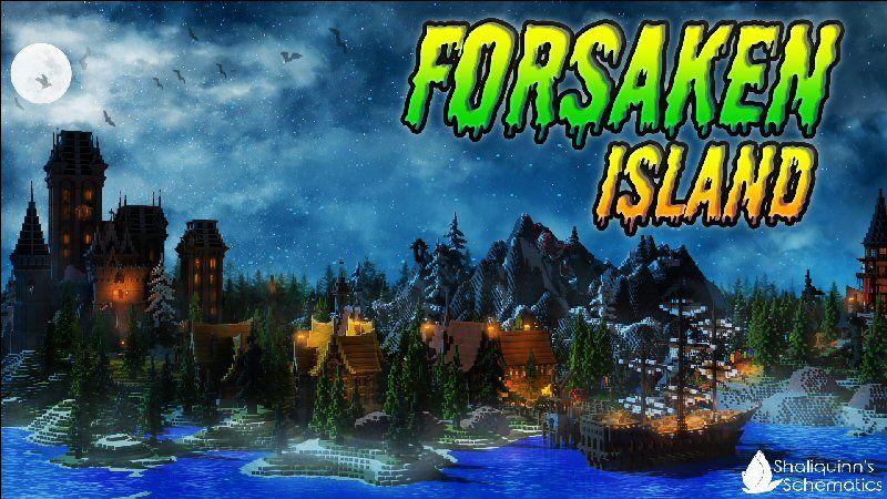 Forsaken Island on the Minecraft Marketplace by Shaliquinn's Schematics