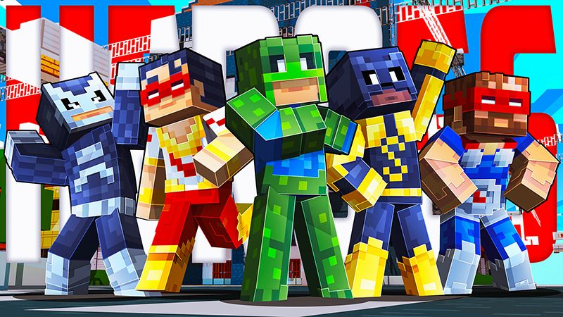 Heroes on the Minecraft Marketplace by Dig Down Studios