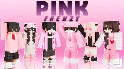 Pink Frenzy on the Minecraft Marketplace by inPixel