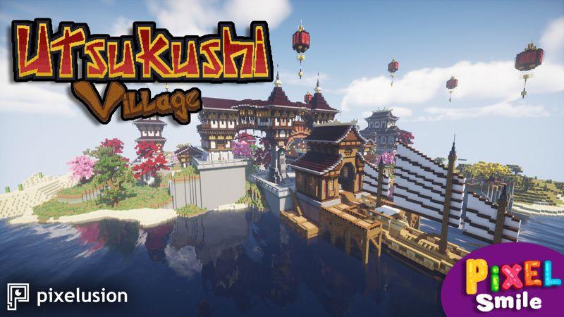 Utsukushi Village on the Minecraft Marketplace by Pixelusion