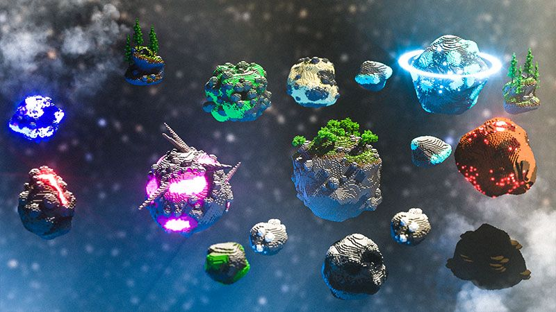Solar Planets on the Minecraft Marketplace by Odyssey Builds
