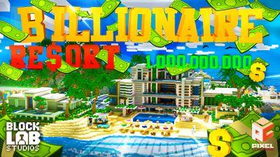 Billionaire Resort on the Minecraft Marketplace by BLOCKLAB Studios