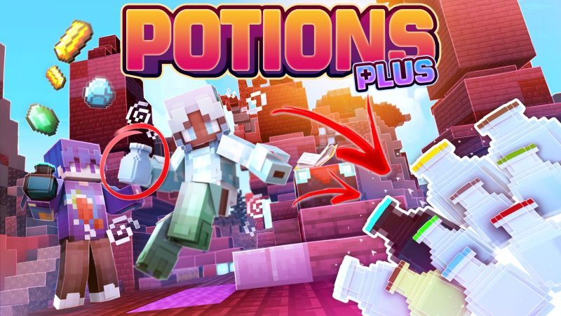 Potions Plus on the Minecraft Marketplace by CubeCraft Games