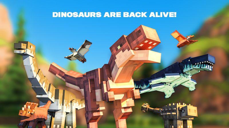 Dinosaurs on the Minecraft Marketplace by Team Vaeron